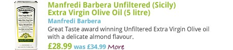 Manfredi Barbera Unfiltered (Sicily) Extra Virgin Olive Oil