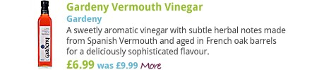 Gardeny Vermouth Vinegar